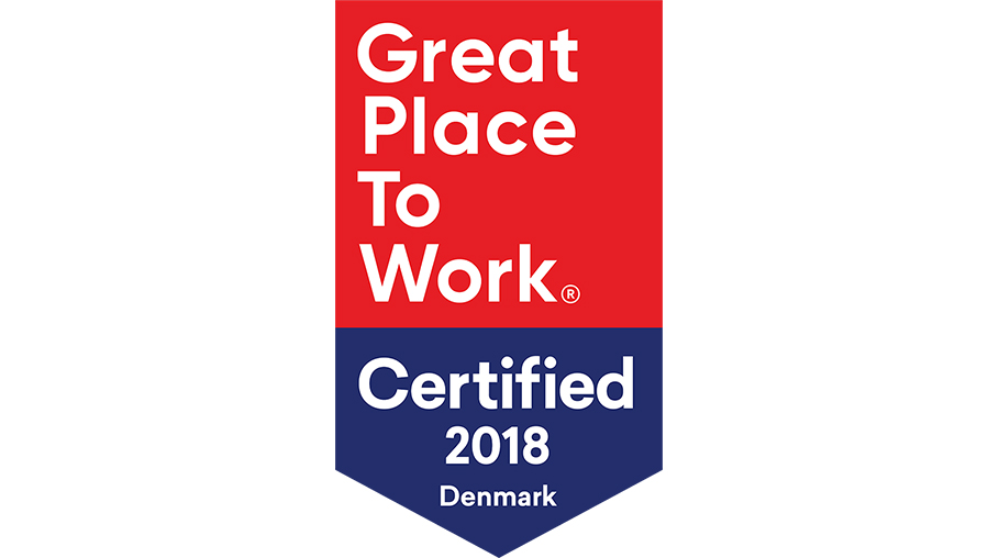 Great place to work - certifierad 2018