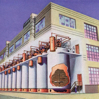 PENICILLIN PRODUCTION PLANT