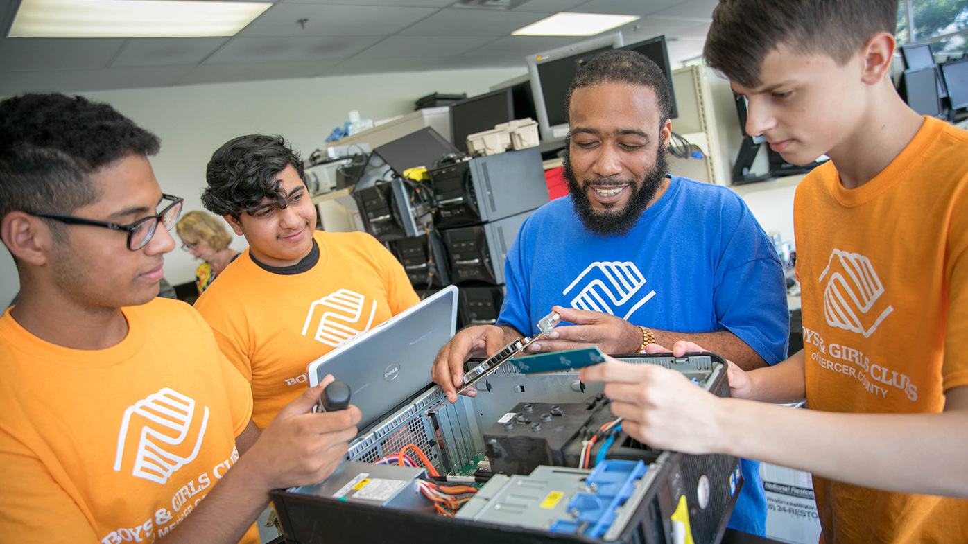 Boys & Girls Club of Mercer County's Computer Exchange Program: STEM Programming Creates Career Pathway