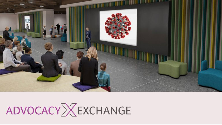 COVID Advocacy Exchange Website