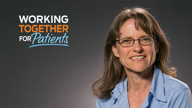 Helen - working together for patients